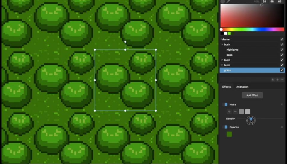 Pixelmash: make resolution-independent pixel art