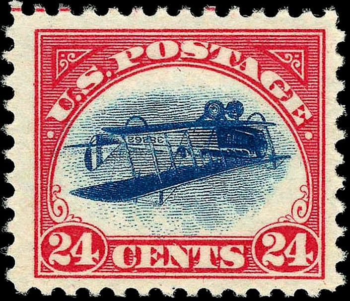 Infamous Inverted Jenny Stamp No 49 Resurfaces A Century Later