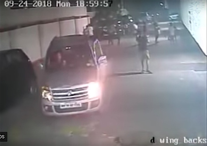 Watch: A boy is completely run over by car but somehow jumps up and runs off as if nothing has happened