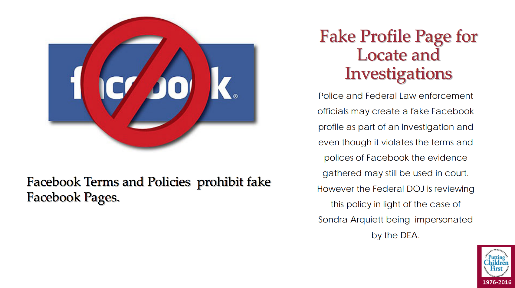 Facebook reminds America's cops that they're not allowed to use fake