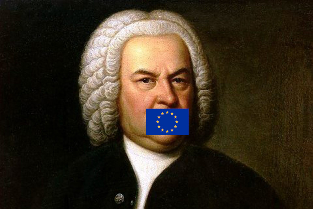 The future is here today: you can't play Bach on Youtube because Sony says they own his compositions