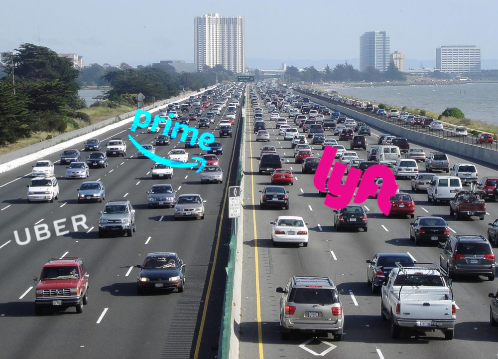 Study blames Uber/Lyft for San Francisco traffic, Uber/Lyft blames Amazon, propose surge pricing | Boing Boing