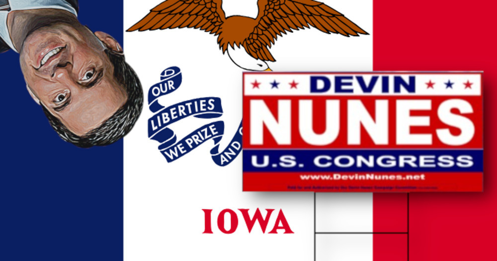 Devin Nuness Much Touted California Farm Secretly Moved To Iowa In