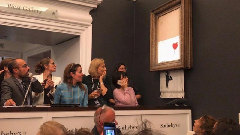 Myth-busting the self-shredding Banksy painting