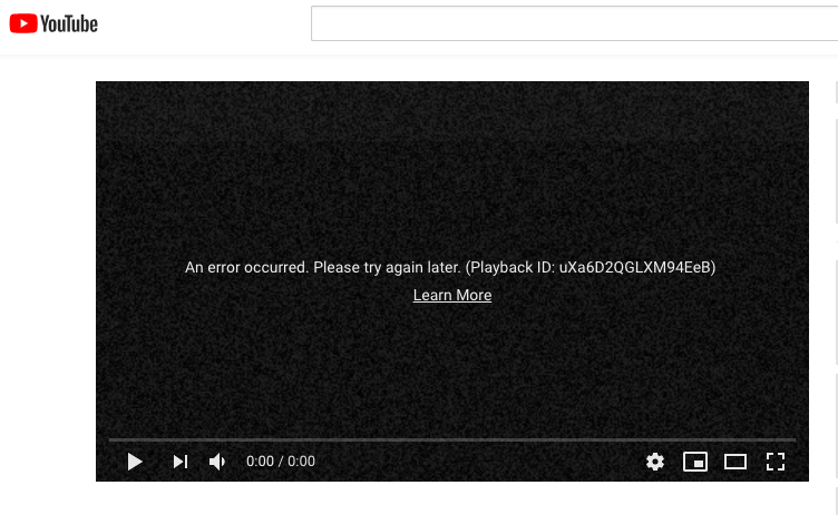 You're not nuts, YouTube & related sites are having 'access