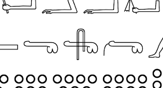 Can you see the penis character 𓂸 found hiding in the Egyptian