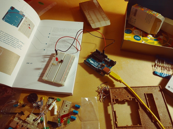 The Complete Arduino Starter Kit helps you dive into the #1