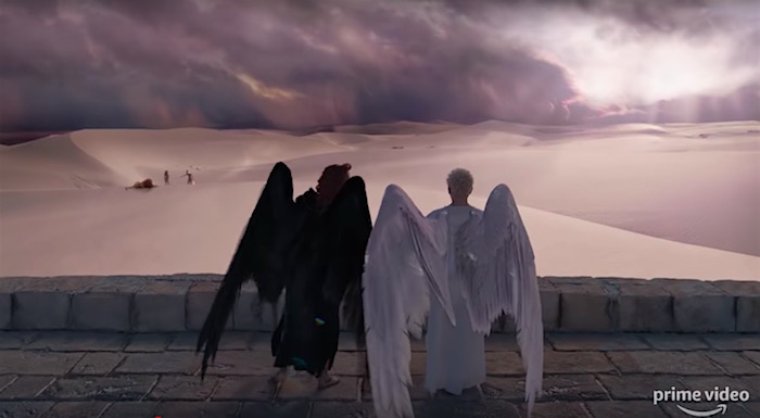 The first trailer for Good Omens makes the apocalypse look delightful