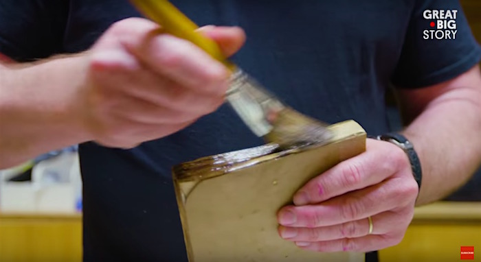 This prop master has devoted his life to the creation of paper