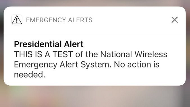Three New Yorkers are suing Trump and FEMA to stop 'Presidential Alert' messaging