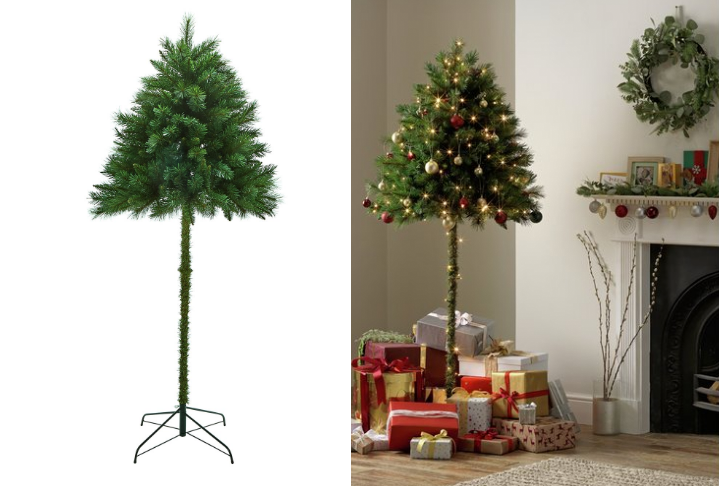 Half Christmas.Uk Retailer Offers Christmas Trees For Cat Lovers Boing Boing