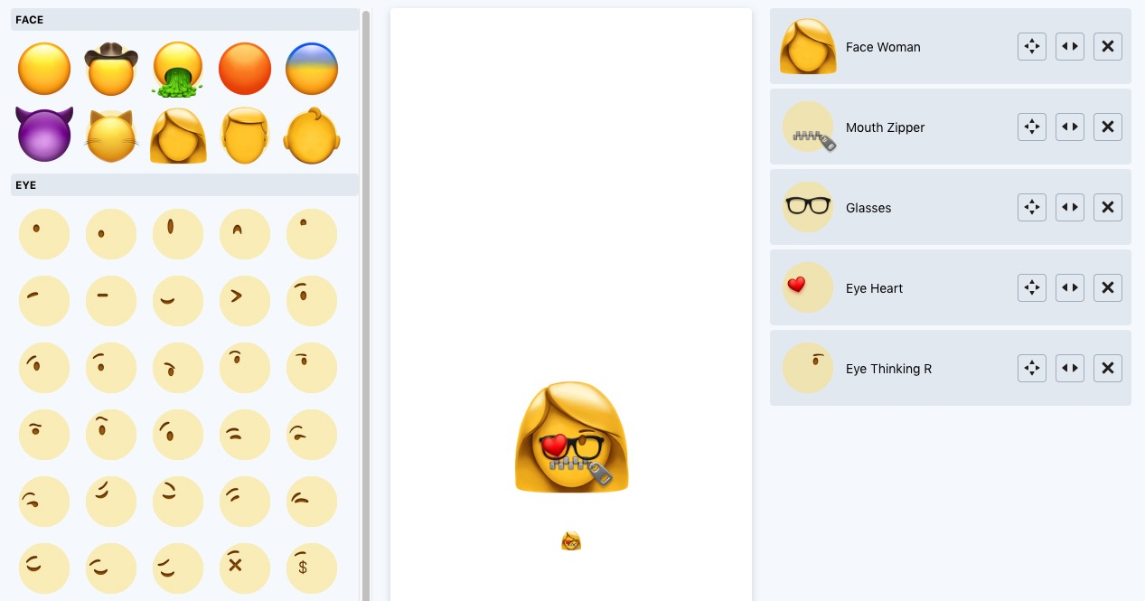 This website lets you make your own emojis.