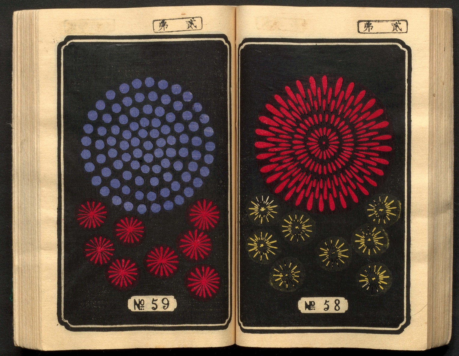 Archive of old Japanese fireworks catalogs