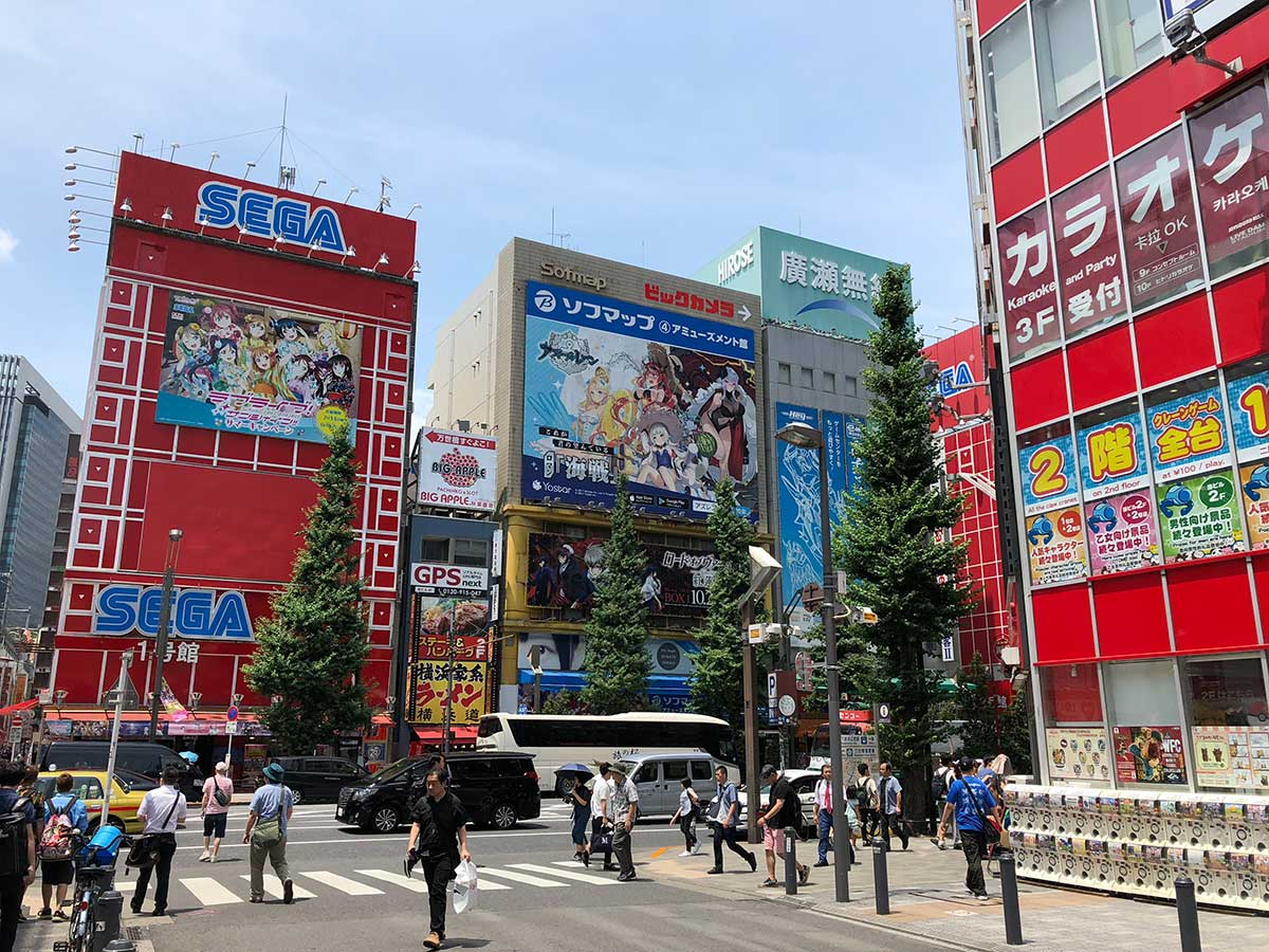 Scotty of Strange Parts takes a tour of Akihabara, Tokyo's geek culture headquarters