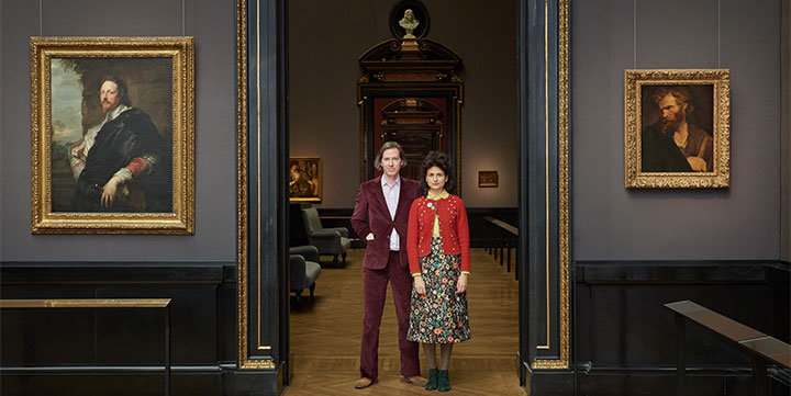 Filmmaker Wes Anderson co-curated a quirky art exhibition of oddball items in Vienna