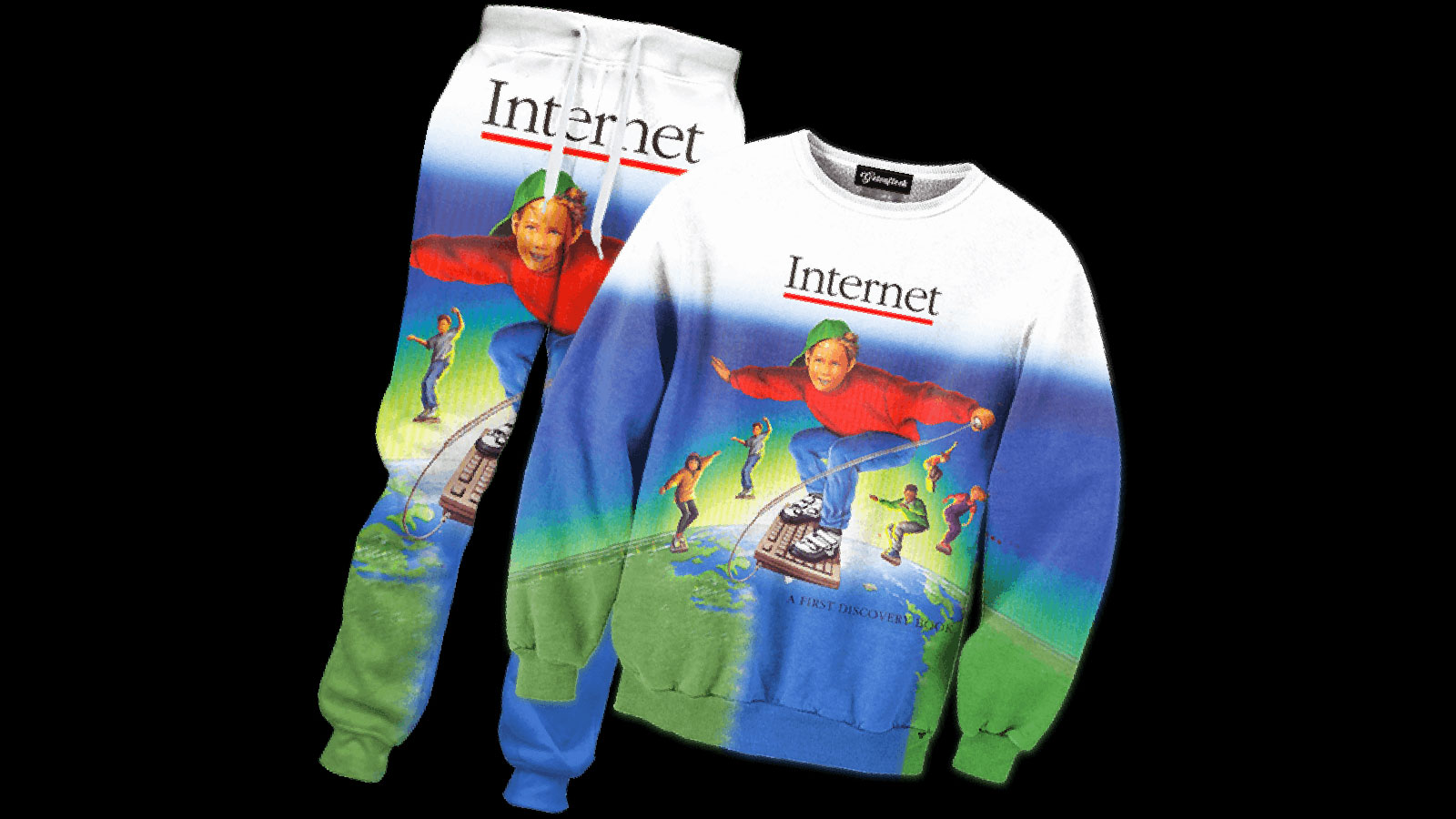 Welcome To The Internet, the tracksuit