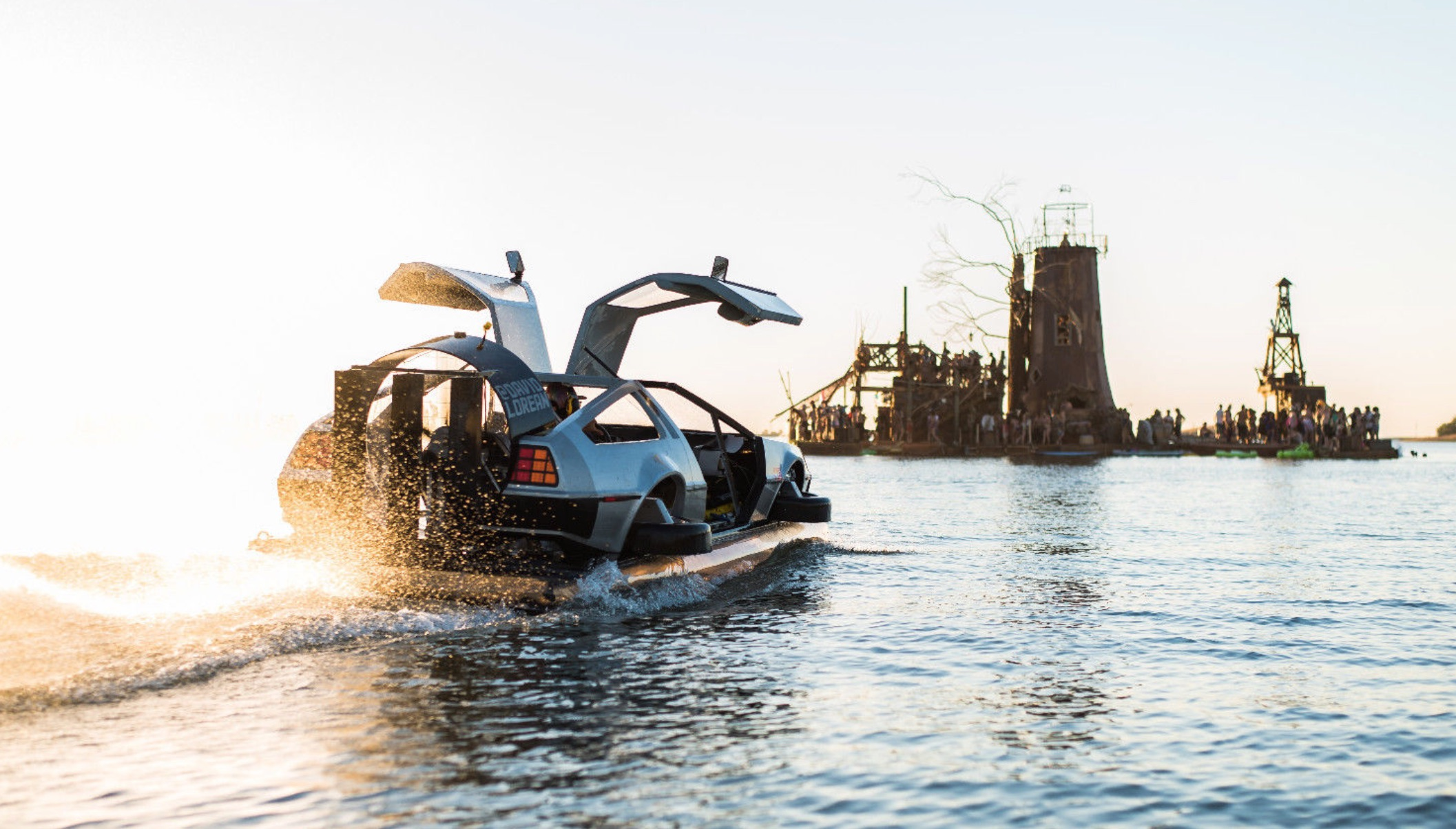 Delorean hovercraft for sale