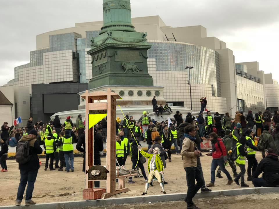 Yellow Vests stand for and against many contradictory things, but are united in opposition to oligarchy