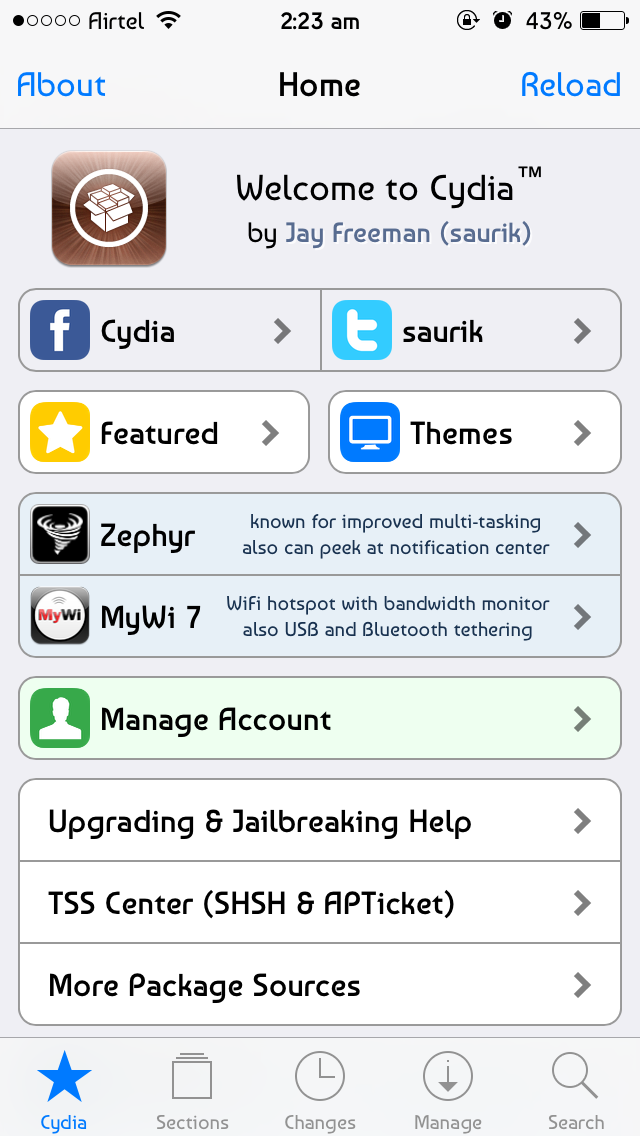 Cydia, the app store for jailbroken iOS devices, will no