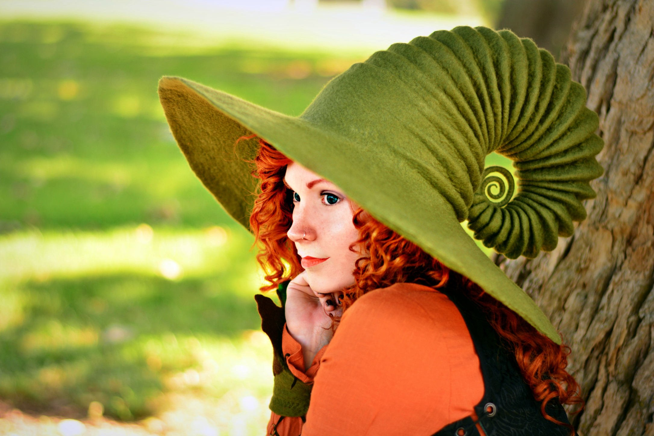 The artist behind these spellbinding witch hats almost stopped making them after her first one