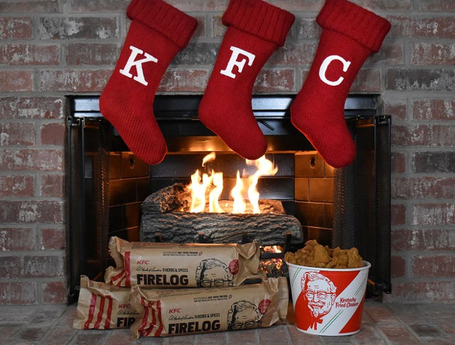 Kfc Introduces A Firelog That Smells Like Greasy Fried Chicken
