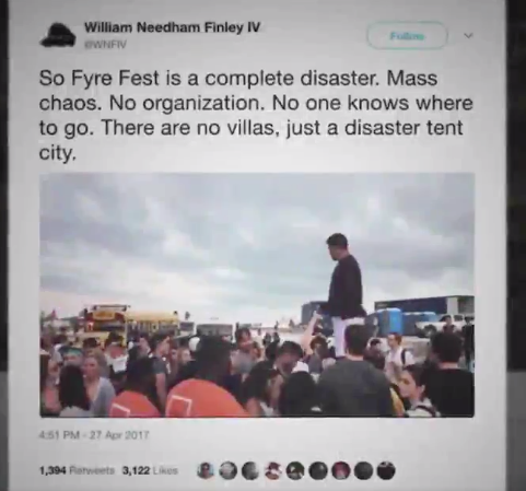 Fyre Festival documentary to air on Netflix in January