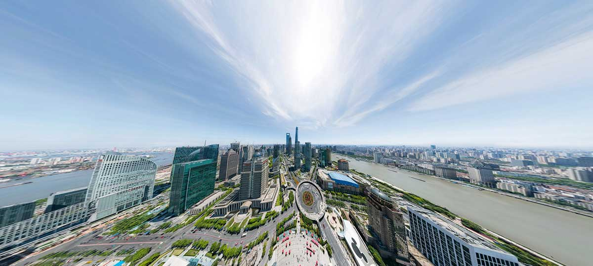 Mind-bending high-resolution photo of Shanghai / Boing Boing