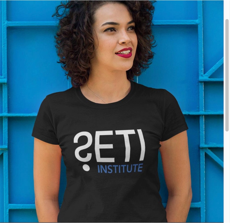 Far out t-shirts that celebrate the SETI Institute!