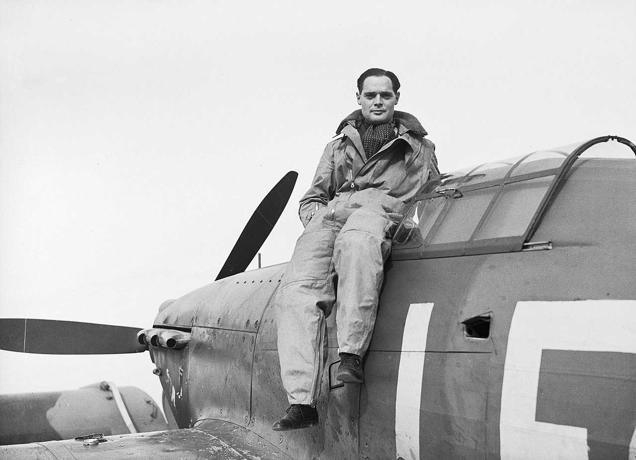 Douglas Bader became Britain's top flying ace in World War II despite losing his legs