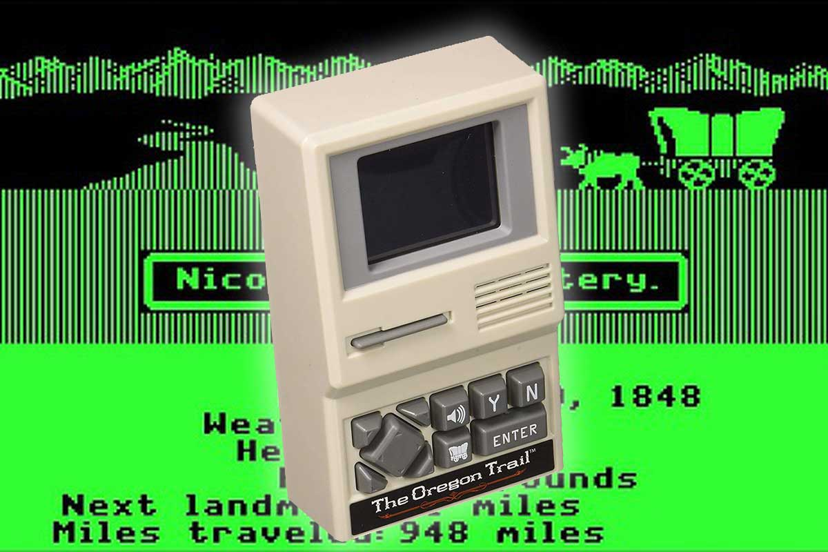 Handheld Oregon Trail game on sale at a deep discount