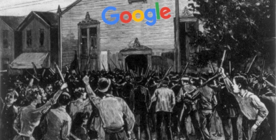 QnA VBage Even as Google was making nice during employee walkout, it was secretly asking the Trump administration to ban email labor organizing