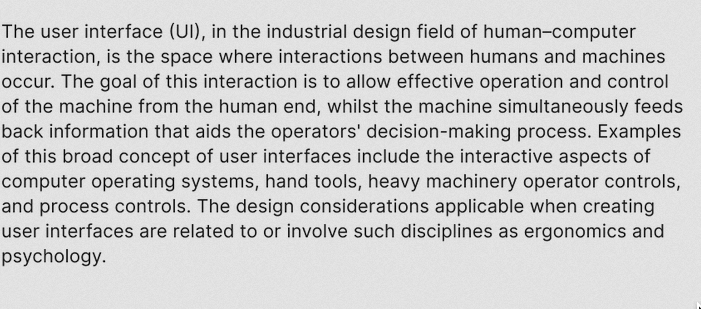 """Inter UI: A free font for """"high legibility of small-to-medium sized text on computer screens"""""""