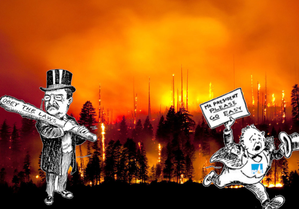 Privatized energy utilities are burning down their states, but antitrust can make them stop
