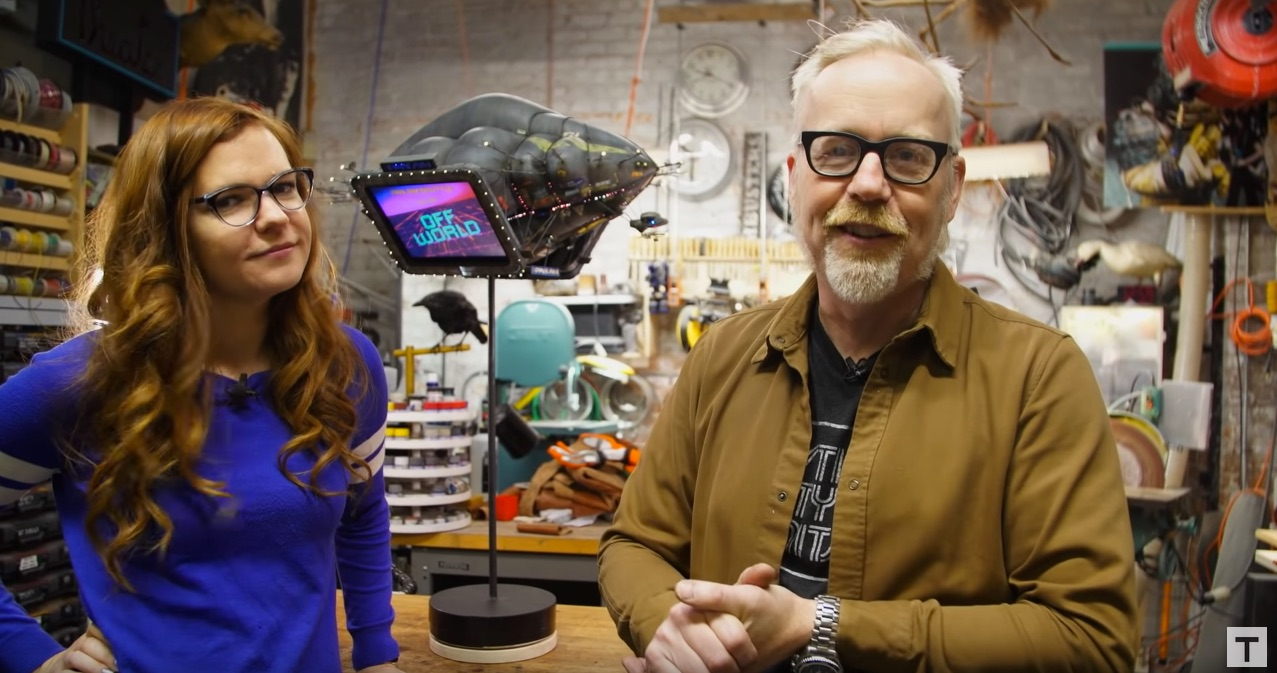 Model Makers Kayte Sabicer And Adam Savage Build A Jaw