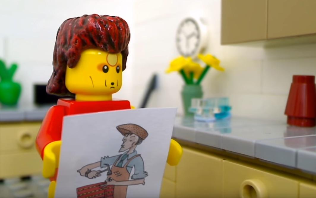 LEGO Bowie contemplates post-Ziggy Stardust character ideas: Cobbler Bob? A Mad Deus? Viscount Jizzmark?