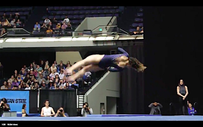 Watch This Spectacular Gymnastics Performance By Ucla S
