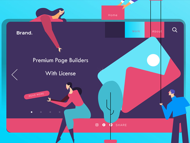 Build your dream website with this trove of WordPress themes