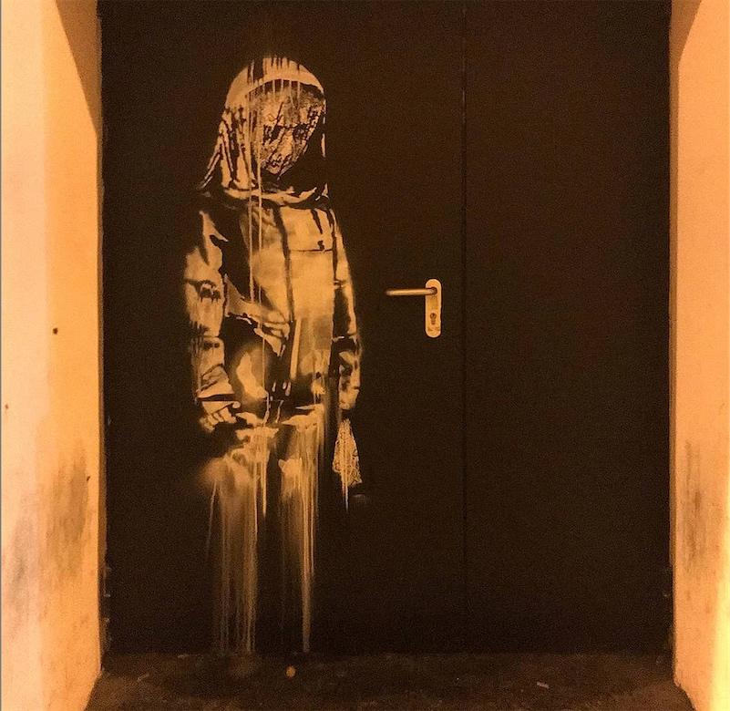 Banksy mural stolen from Bataclan in Paris