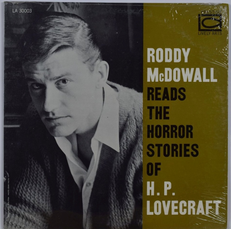 "Listen: HP Lovecraft's ""The Outsider"" and ""The Hound"" read by Roddy McDowall"
