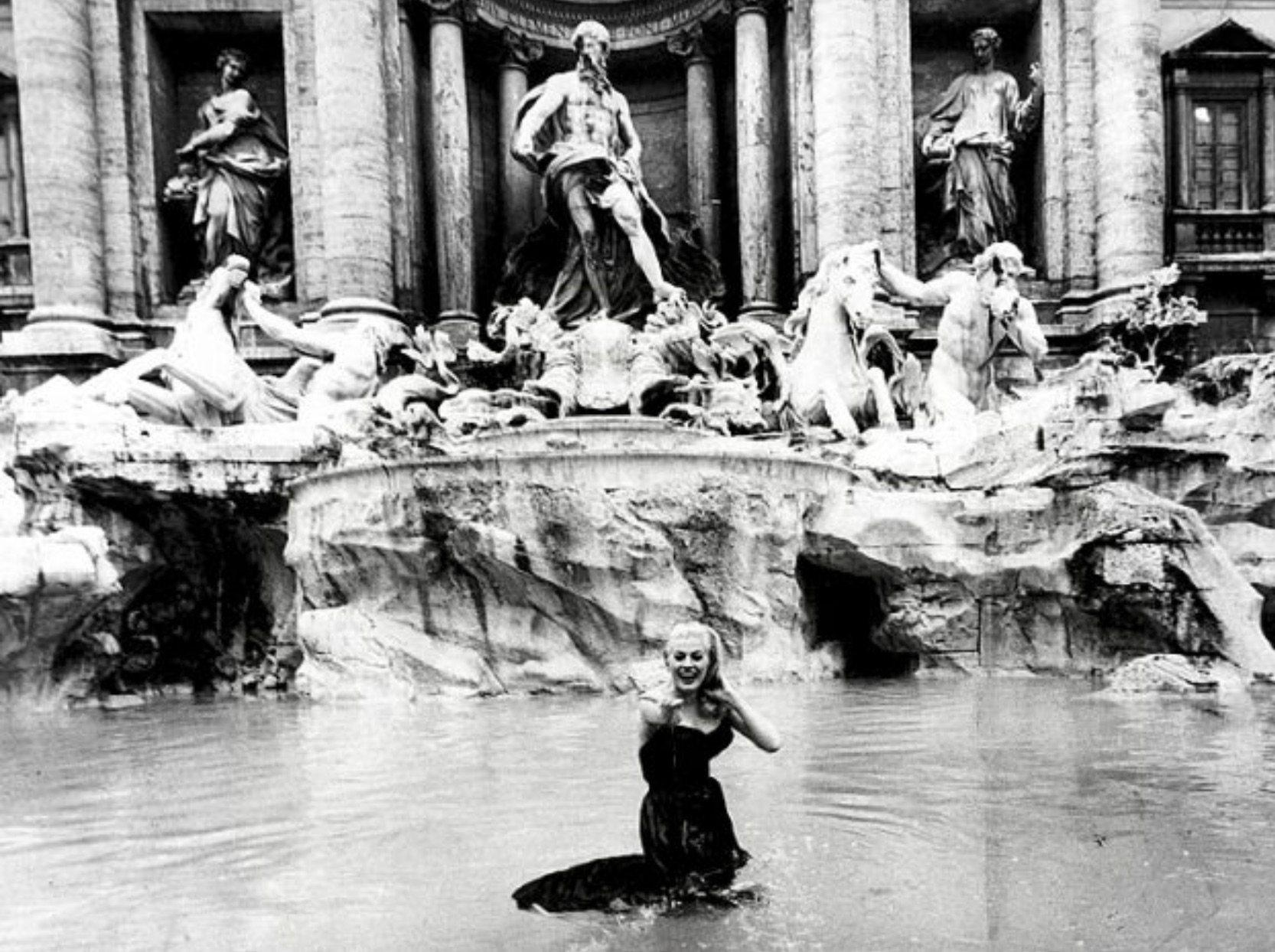 Rome and the Catholic Church fighting over change tossed into the Trevi Fountain