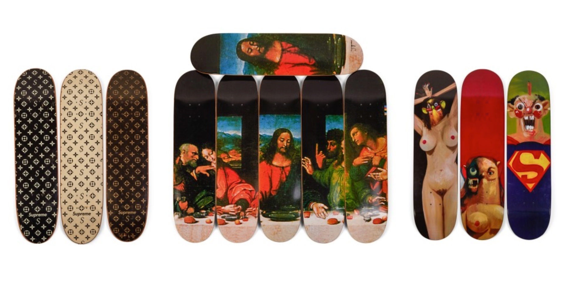 Auction for entire series of Supreme skateboard decks expected to hit  nearly  1 million da280c94734