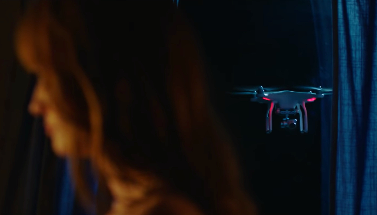 """Trailer for """"The Drone,"""" a horror film about a sentient flying drone"""