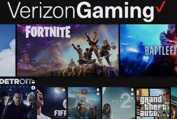 Verizon Gaming' cloud-based games service coming soon to