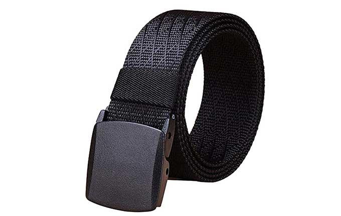 QnA VBage A belt that won't set off metal detectors