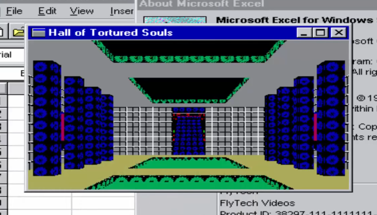 Microsoft Excel's Hall of Tortured Souls