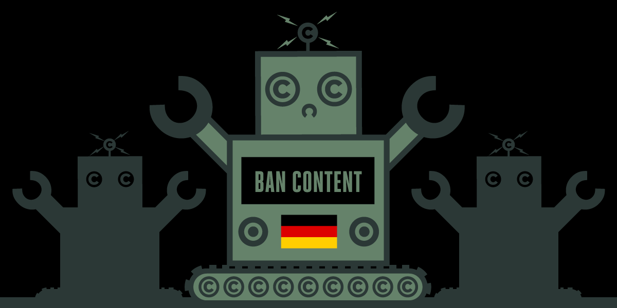 The worst possible version of the EU Copyright Directive has sparked a German uprising