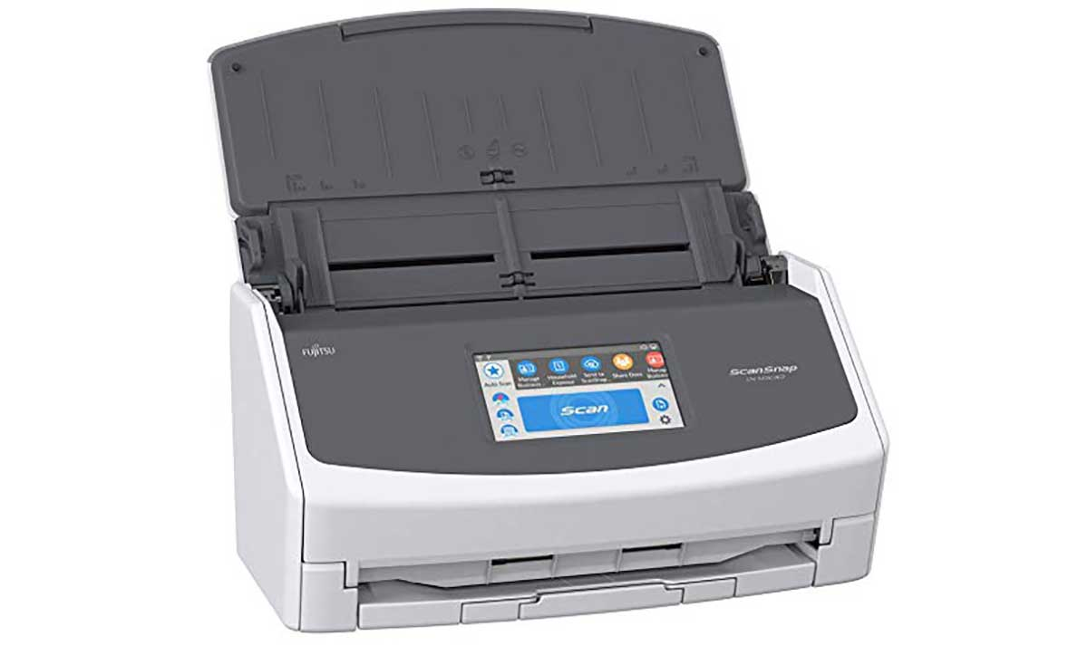 Fujitsu ScanSnap ix1500 -- best way to a paperless archive