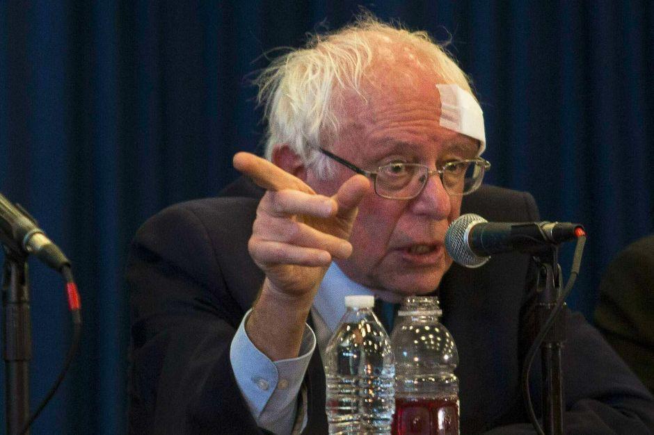 Bernie Sanders Cut His Head On Shower Door Got 7 Stitches