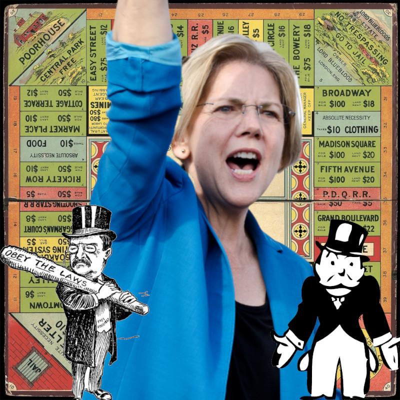 Elizabeth Warren reveals her plan to break up Big Tech