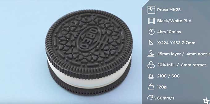 This 3D Printed Box Looks Like A Large Oreo Cookie Boing